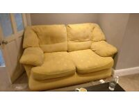 2 matching sofas with washable covers FREE