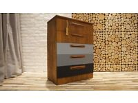 SAKOL CHEST OF DRAWERS,SIDEBOARD,VINTAGE,RETRO, SHABBY CHIC (FREE DELIVERY)