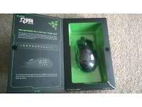 razer naga expert mmo gaming mouse want £40 ,,new in box not been used! going for over £75 on ebay