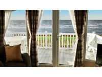*Sensational Sea Views* Craig Tara Ayr *Beachfront* Platinum Caravan for hire.