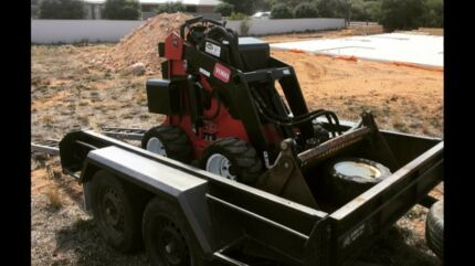 DINGO WITH TRENCHER FOR HIRE $260