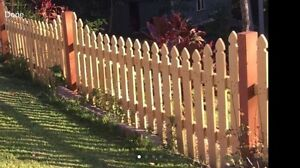 Wooden fence 70mtrs Long Terranora Tweed Heads Area Preview