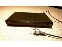 DVD with a remote and SCART