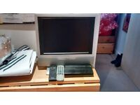 FREE: Small flatscreen TV with Freeview box