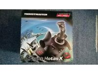 Thrustmaster hotas t-flight PC PS3 joystick gaming controller