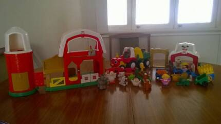Fisher Price Little People Farm Bundle with lots of extras Upper Coomera Gold Coast North Preview