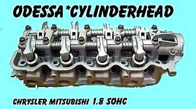 MITSU MIRAGE COLT CORDIA ECLIPSE 1.8 SOHC ROLLER CAM CYLINDER HEAD 82-94 REMAN