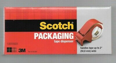 3m Scotch Packing Tape Dispenser Handles Tape Up To 2 Wide New