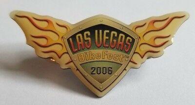 2006 Las Vegas Bike Fest BikeFest Pin Hat Pin Lapel Pin Collectible Motorcycle
