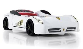 Childrens Ferrari 458 Italia style car bed with lights and music