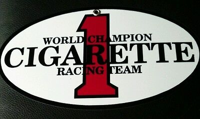 Cigarette powerboats race team sign ... Boat boating