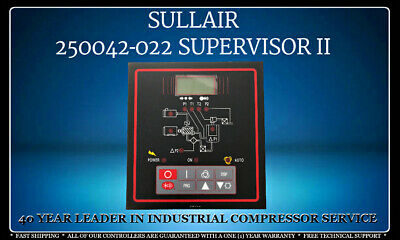 250042-02202250048-4 Sullair Supervisor Ii Controller With 1 Year Warranty