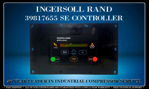 INGERSOLL RAND 39817655 SSR 15-100 HP INTELLISYS CONTROLLER WITH WARRANTY