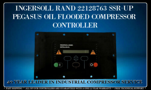 INGERSOLL RAND 22128763 SSR-UP PEGASUS OIL FLOODED CONTROLLER WITH WARRANTY