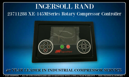 23711288 INGERSOLL RAND XE145M SERIES ROTARY COMPRESSOR CONTROLLER WITH WARRANTY