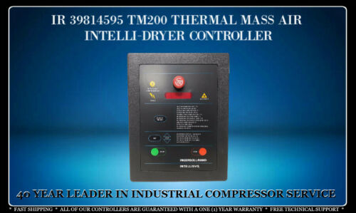 INGERSOLL RAND 39814595 THERMAL MASS AIR DRYER CONTROLLER WITH WARRANTY