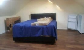 Lovely Loft Double Room to Rent in a Shared Semi-Detached House in Dallow Road, Luton LU1