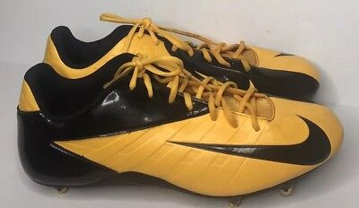 625cbbd1967b Mens Nike Air Zoom Vapor Strike 3 Low 511336-710 Football Cleats Yellow  Black 14