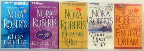 Nora Roberts Audio Book on Cassette Lot of 5