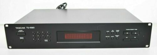 Tascam/TEAC TU-690 AM/FM Stereo Tuner Rack Mountable