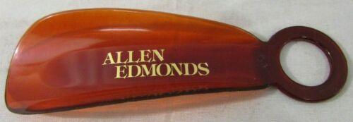 "Vintage Allen Edmonds 5.5"" Amber Shoe Horn Plastic"