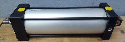 Numatics Zj-930735-5 4 Bore 10.5 Stroke Pneumatic Cylinder New