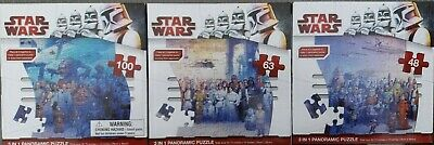 STAR WARS 210 PIECE JIGSAW PUZZLE ~ SET OF 3 ~ BRAND NEW!