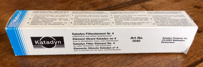 KATADYN 1040 Expedition KFT Replacement Filter Element Art. No. 1040 (#4)