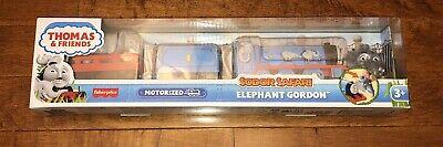 Thomas and Friends Trackmaster Sodor Safari Elephants Gordon Motorized Train New