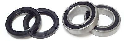 Both Front Wheel Bearings and Seals Kit for Yamaha YFZ350 Banshee 1987-2006