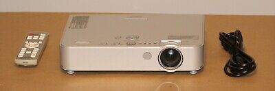 Panasonic PT-LB50NTU LCD Projector. 415 Hours .With Remote Control & Power Cord