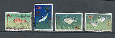 "Republic of China 1965 Scott # 1454-1457  ""Fisherman's Day"""