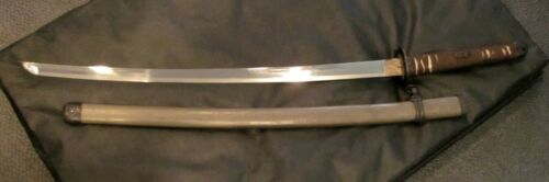 WWII, Imperial Japan Army Officers Wartime GUNTO Sword, Type 3, Signed