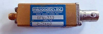 Micronetics Rfn-333 Noise Source Hf 2-3 Ghz
