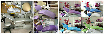 Dental Unit Chair Sleeves Dentist Stool Cover Head Cushion Pu Waterproof Clothe
