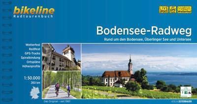 Bikeline Radtourenbuch Bodensee-Radweg - 9783850004640 PORTOFREI