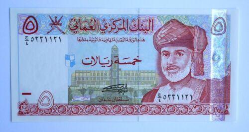Oman 5 Rials 2000 UNC P39