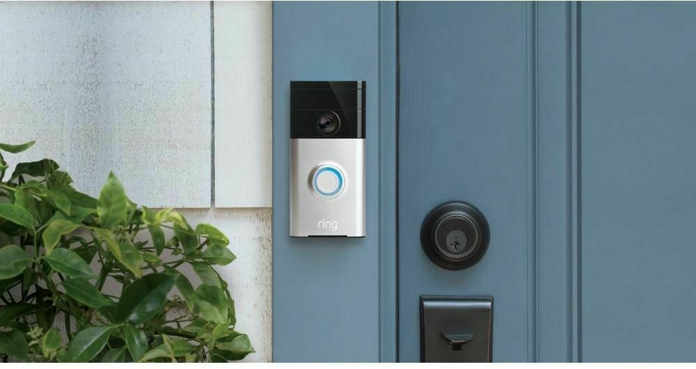 Ring - Video Doorbell - Satin Nickel