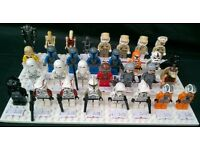 Selection of Genuine LEGO Star Wars Mini Figures from £1 each