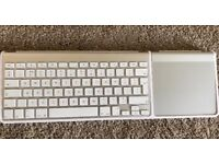 Apple magic keyboard and trackpad
