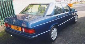 Mercedes 190e Limited Edition.