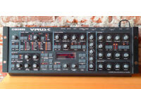 ACCESS VIRUS C EDITION - RARE ANALOG MODELLING SYNTH - WITH RACKMOUNT KIT