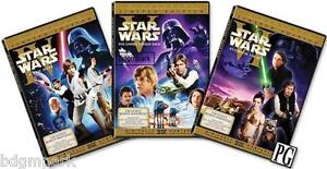 Star Wars Trilogy ORIGINAL THEATRICAL VERSION DVD Widescreen - New: Han Shot 1st