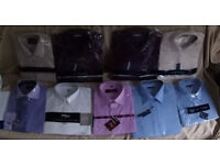 New 9 Mens Shirts various Colours only £1 each, in packaging.