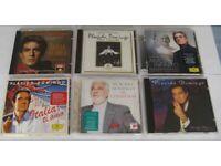 JOB LOT. 6 PLACIDO DOMINGO CD ALBUMS