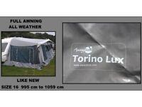 Caravan Awning Size 1050 Size 16