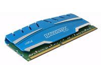 Crucial 8GB Ballistix Sport XT DDR3 PC3-14900 1866MHz 240Pin RAM GAMING MEMORY