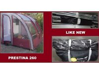 Caravan Porch Awning Prestina 260 Caravan Awning BARGAIN