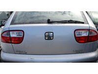 2002 - SEAT LEON CUPRA 20VT - PETROL in GREY - BREAKING for SPARE PARTS.