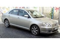 Toyota Avensis GOOD FOR EXPORT £475 Call o7828641833